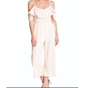 BB Dakota Kando Gingham Jumpsuit
